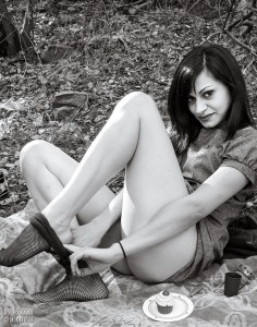 a fera puellula (a wild girl)